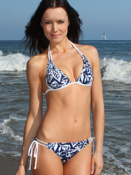 I chose to review the Envy Push Up Royal Flower Double String Bikini (with ...