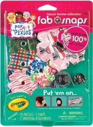 Crayola pop art pixies fab snaps review and giveaway mom for Crayola pop art pixies fab snaps jewelry set