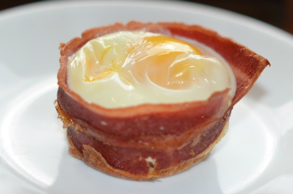 Bacon Egg Toast Cup Recipe