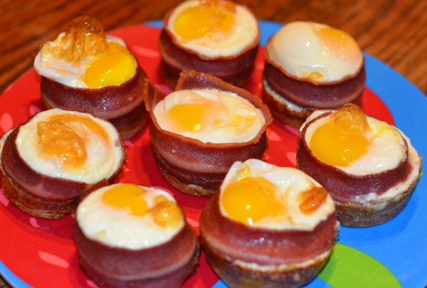 Turkey Bacon Egg Cups Recipe