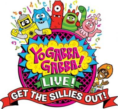 Yo Gabba Gabba Get The Sillies Out Live Tour Logo