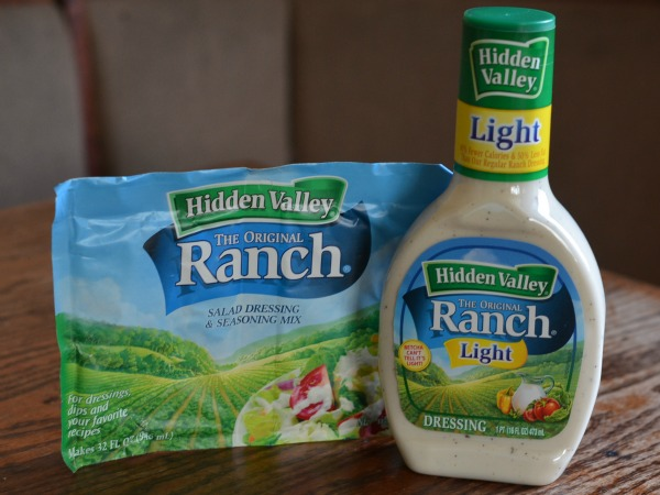 Hidden Valley Ranch Bottle and seasoning packet