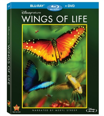 Disneynature's Wings Of Life Blu-ray
