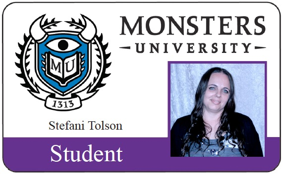 Monsters University Student ID Card
