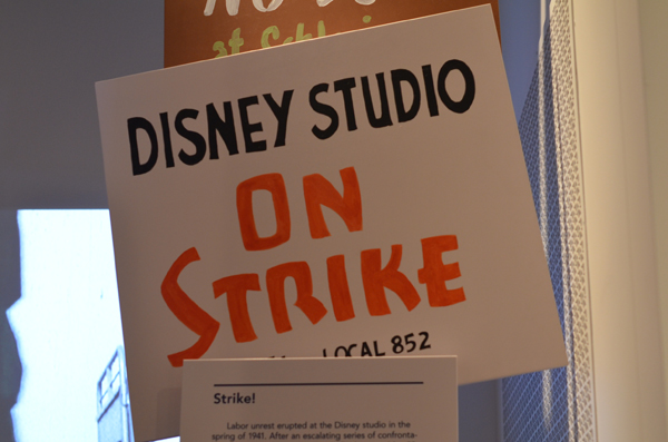 Disney Studio On Strike