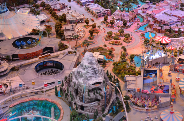 Model of Disneyland at WDFM