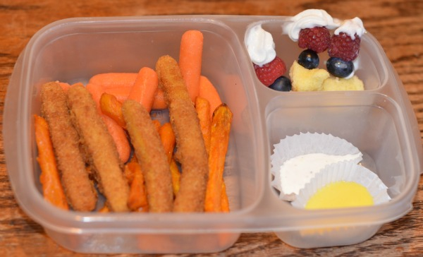 Chicken Fries Bento Box Lunch