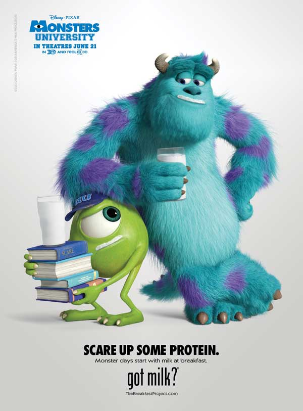 Monsters University Got Milk Ad