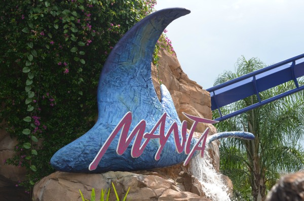 Manta ride at Sea World Orlando