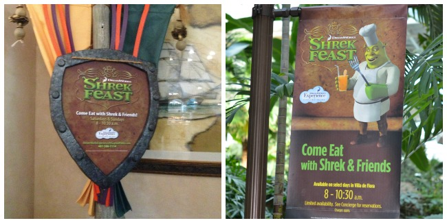Shrek Feast at Gaylord Palms