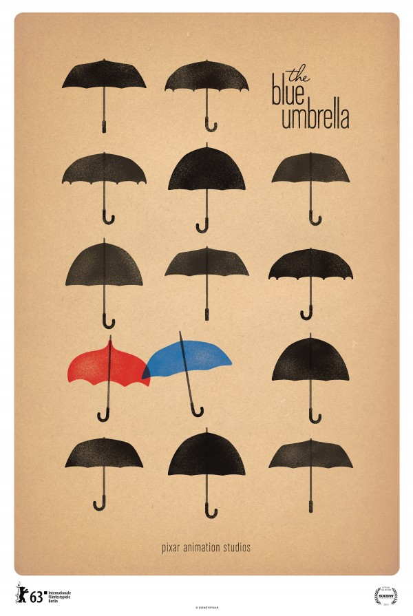 Poster for The Blue Umbrella