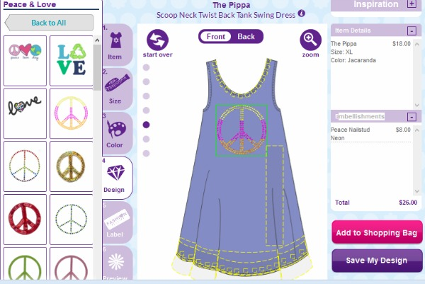 Design Your Own Clothes At Fpgirl For Free FP Design Studio screenshot