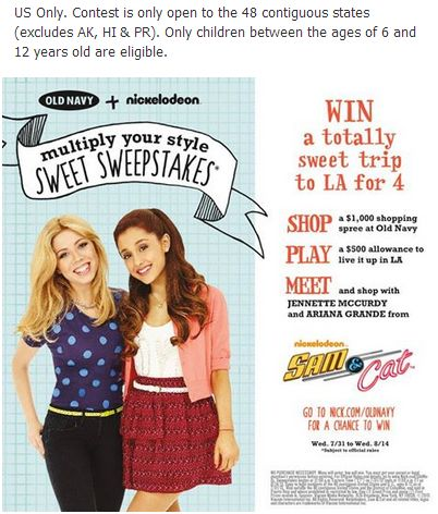 Old Navy Sweepstakes