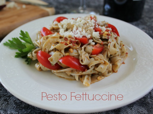 Peso Fettuccine With Tofu Noodles
