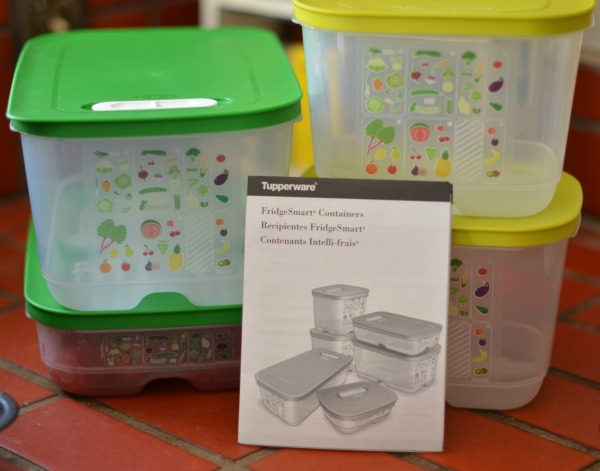 FridgeSmart containers by Tupperware