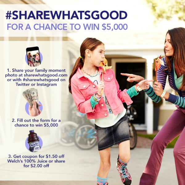 Welch's Share Whats Good Photo Contest