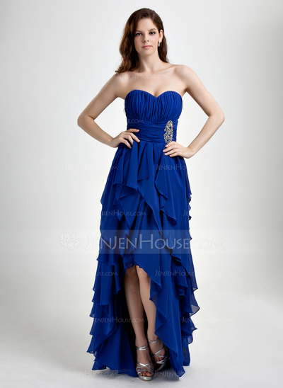 Blue Prom Dress from JenJenHouse