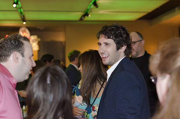 Josh Grobin Muppets Most Wanted After Party
