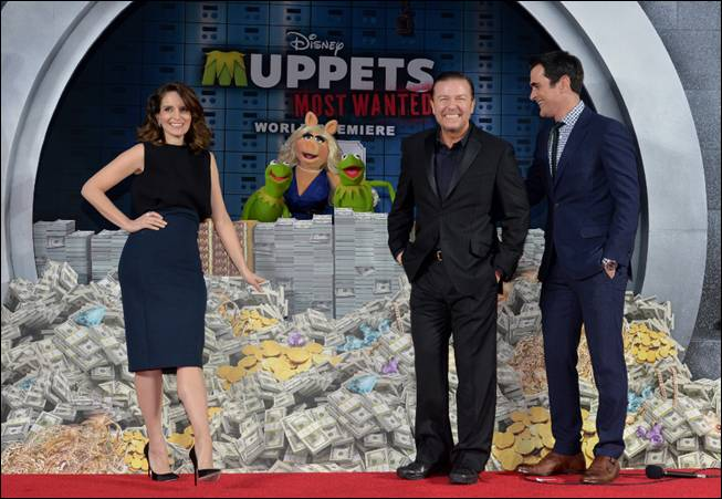 Muppets Most Wanted Red Carpet Premiere Picture