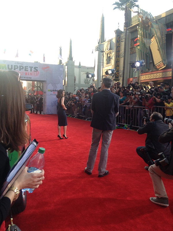 Tina Fey on Muppets Most Wanted Red Carpet - #MuppetsMostWantedEvent