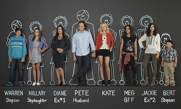Trophy Wife TV Show Cast RYAN LEE, BAILEE MADISON, MARCIA GAY HARDEN, BRADLEY WHITFORD, MALIN AKERMAN, NATALIE MORALES, MICHAELA WATKINS, ALBERT TSAI