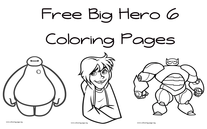 Fred Big Hero 6 Free Printable Coloring Pages Fred Best