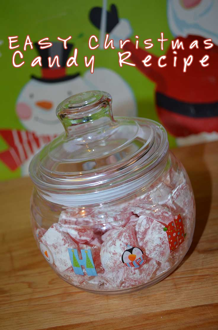 Easy christmas candy recipe make your own homemade candy for Traditional christmas candy recipes