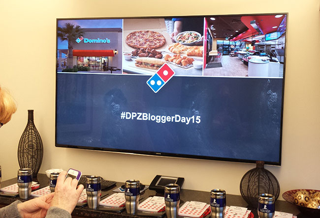Domino's Pizza Blogger Day #DPZBloggerDay15
