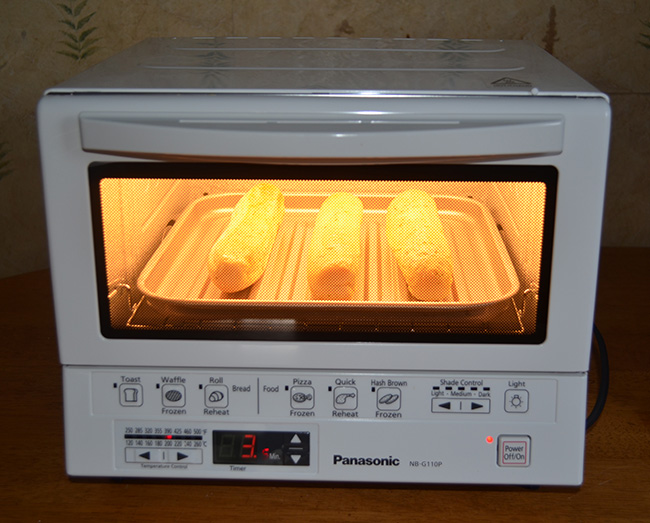 how to make bread pakora in microwave oven