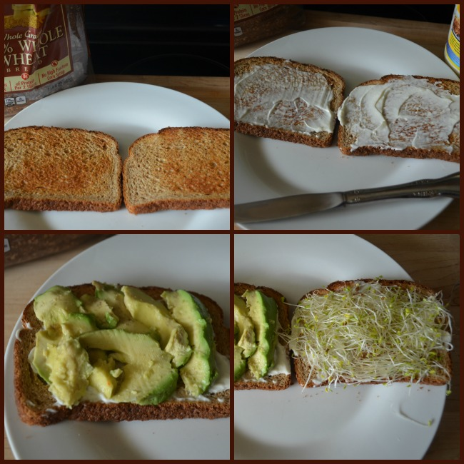 Avocado and Sprout Sandwiches With Oroweat - Mom's Blog