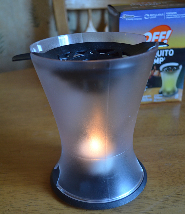 Off Mosquito Lamp Review Mom S Blog