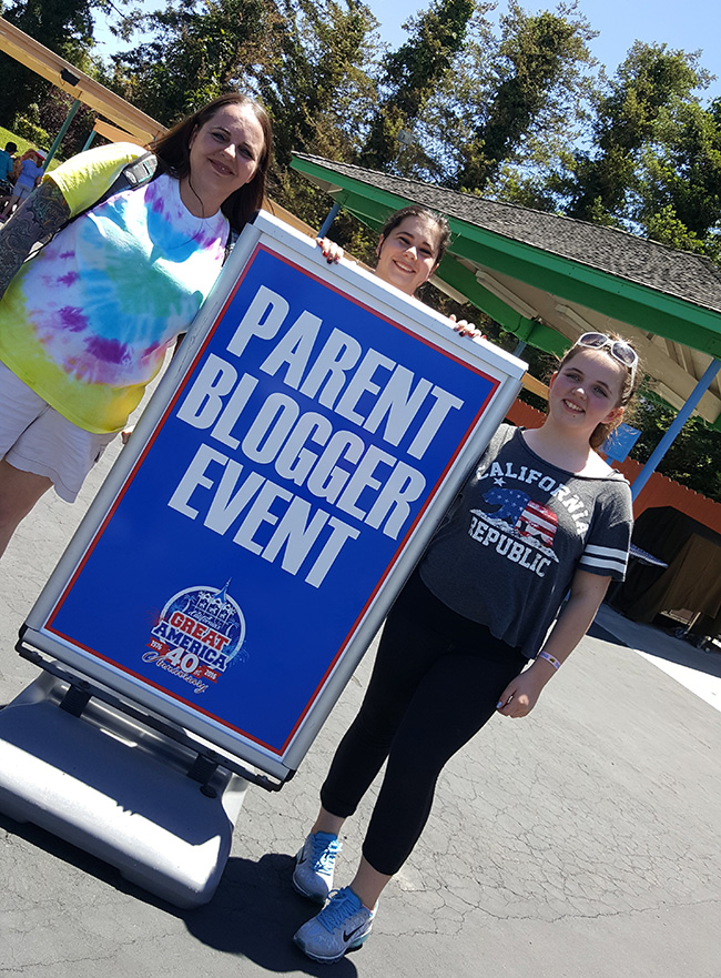 CA Great America Parent Blogger Event 2016