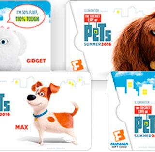 The Secret Life Of Pets Fandago Gift Cards