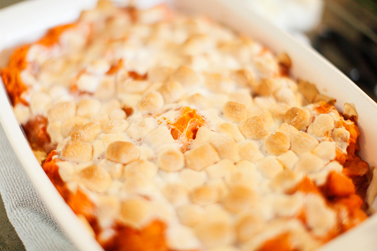 sweet potato marshmallow recipe