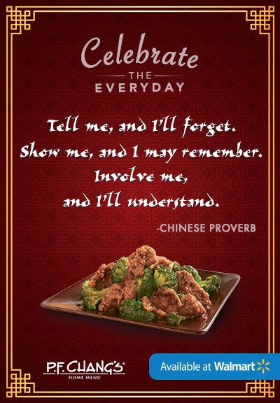 P.F. Changs Celebrate The Everyday