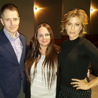The Catch Executive Producer Allan Heinburg and Sonya Walger with Lifestyle Blogger Stefani Tolson