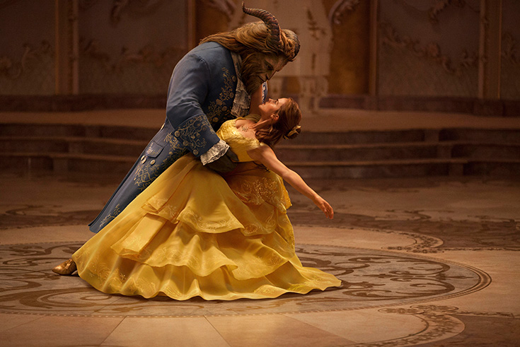 Bell and the Beast Ballroom - Beauty and the Beast