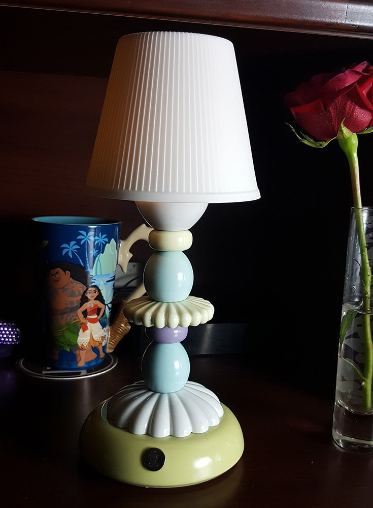 Lladro Porcelain Firefly LED Lamp