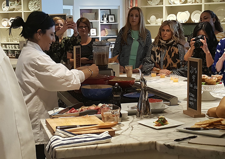Williams Sonoma Beauty and the Beast Cooking Demo