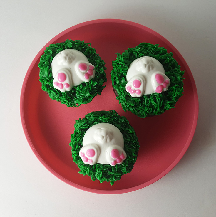bunny butt cupcake recipe