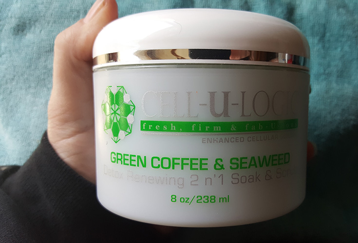 Cell-U-Logic Green Coffee & Seaweed Soak & Scrub