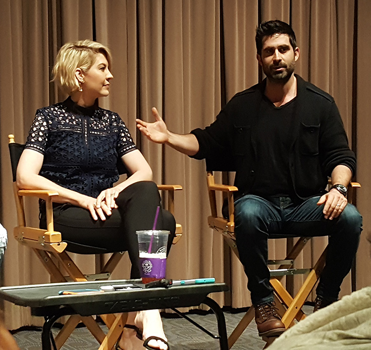Exclusive Interview With Jenna Elfman, Stephen Schneider & More #ImaginaryMary