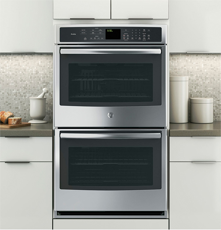 """GE PROFILE™ SERIES 30"""" BUILT-IN SINGLE CONVECTION WALL OVEN·"""