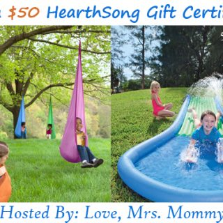 $50 HearthSong Gift Certificate Giveaway