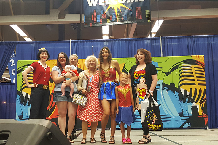 Wizard World Hall Of Legends Ceremony - Trina Robbins