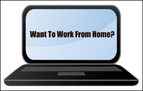 Want to work at home image