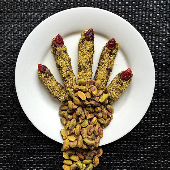 Spooky Witches' Fingers Halloween Recipe