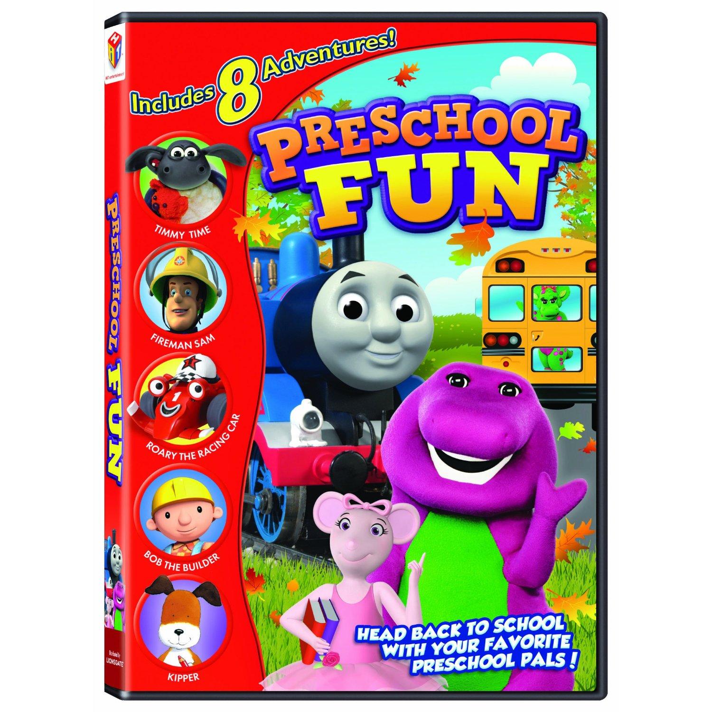 HIT Favorites: Preschool Fun DVD Review And Giveaway