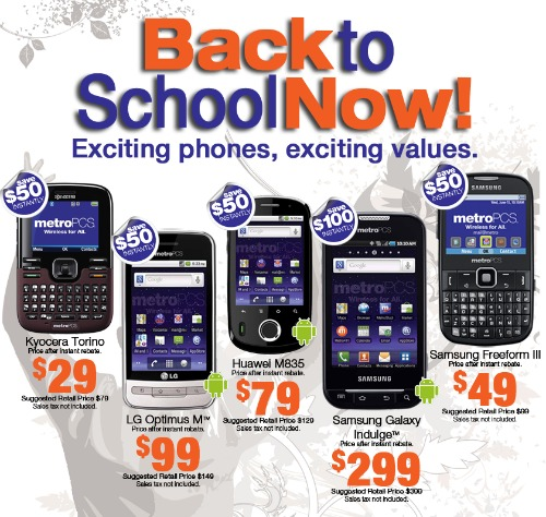 Discount coupons for metro pcs phones