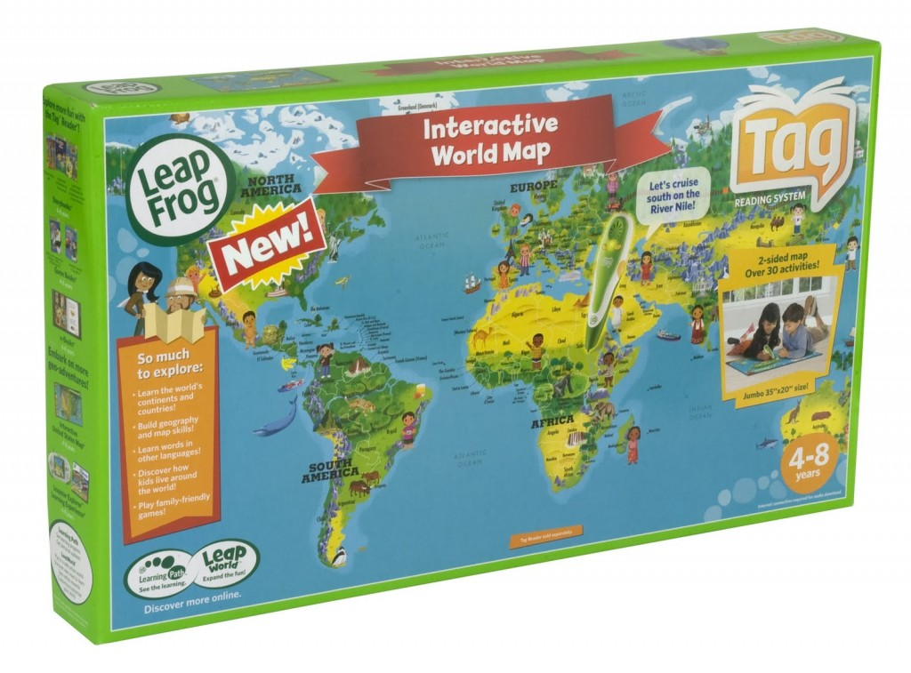 Leapfrog leappad review tag world map review moms blog interactive world map offers save gumiabroncs Choice Image